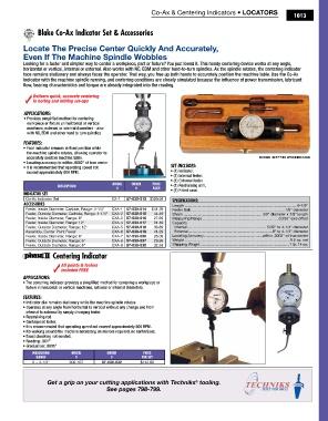 "Blake CXA-2 4-1//4/"" Outside Range Carbide Feeler for Co-Ax Indicator"